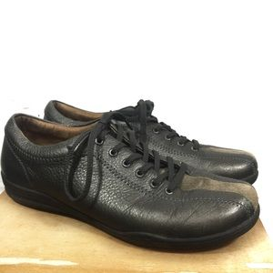 Taos Women's Brown Leather Stealth Sneakers